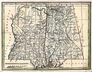 Mississippi/Alabama 1835