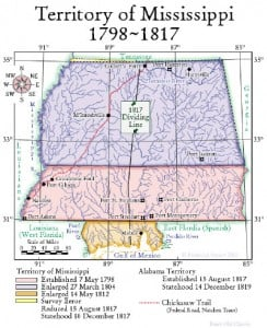 Territory of Mississippi 1798-1817